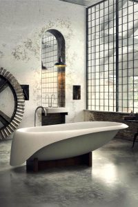 Hoe een industriele badkamer ontwerpen